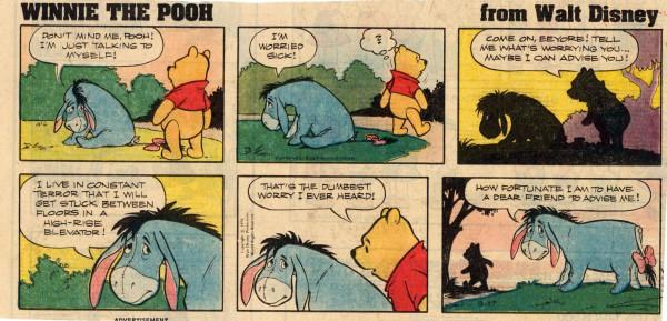 Winnie The Pooh Newspaper Comics