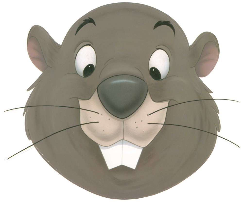 Downloadable Printable Gopher Mask Most Pooh