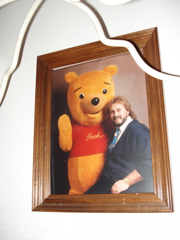 A life-long dream has been to be able to play Pooh at Disneyland or Disney World. I've played Pooh at Sears in the 80s.