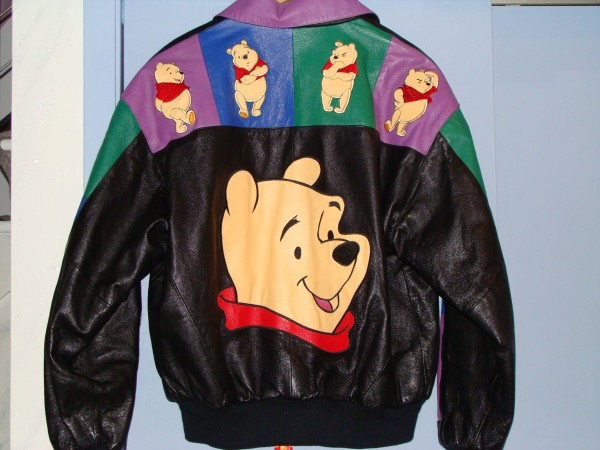 Winnie the Pooh Leather Jacket from the 90s.