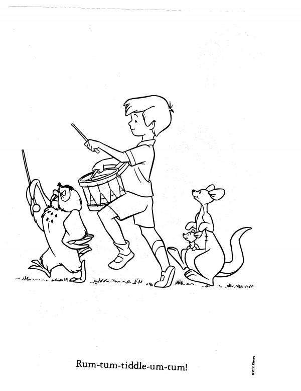 """Christopher Robin Coloring Pages. """""""