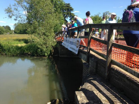 2015 World Pooh Sticks Championships in Whitney