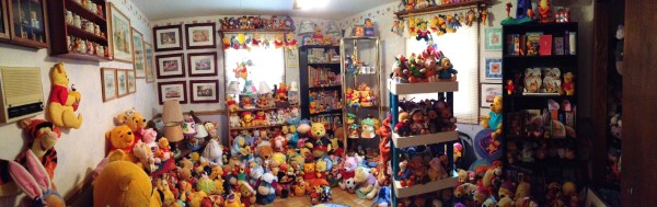 Part of the Guinness World Record Largest Winnie the Pooh Memorabilia Collection